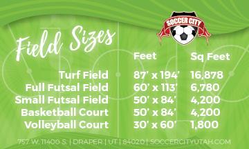 Field Sizes
