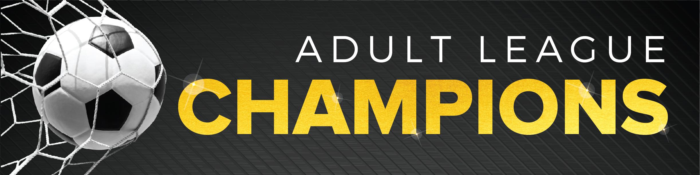 Adult Soccer Champions
